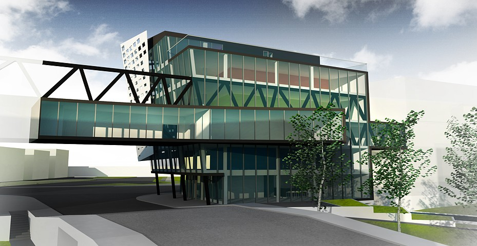 Business Center Palackého - vizualizácia