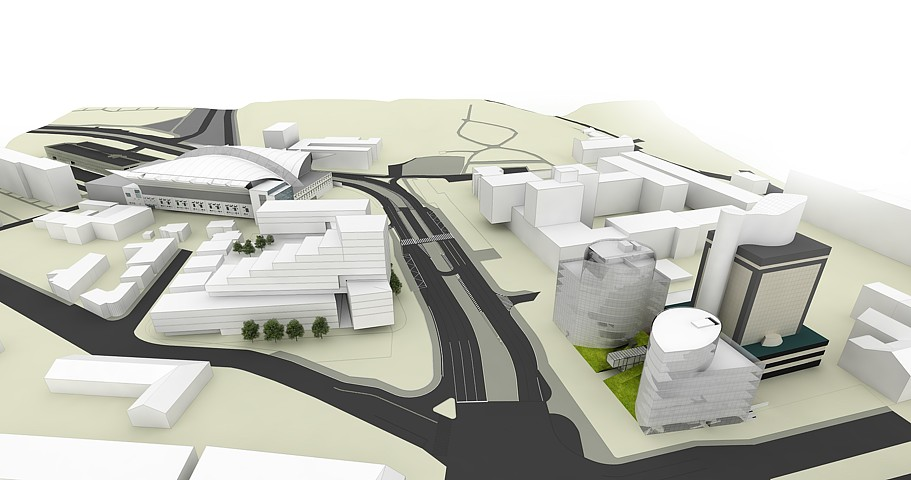 Business centrum Košice III - vizualizácia