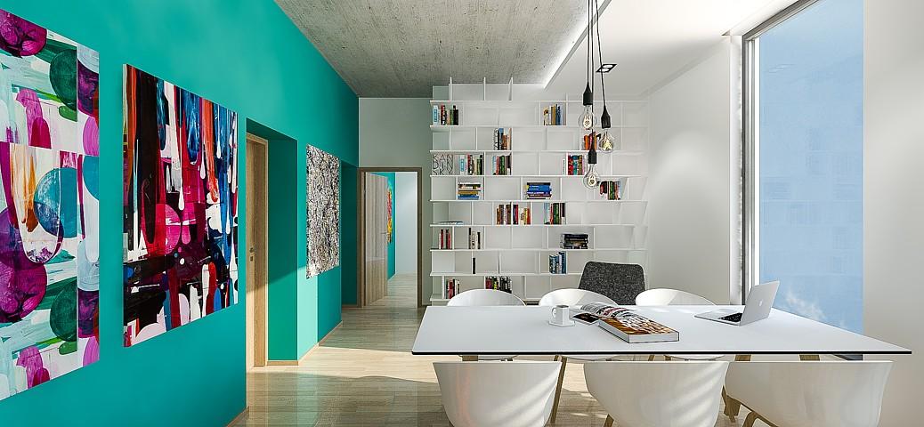 Bytový dom Fejova - vizualizácia
