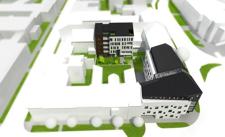 Dom pri Drevnom trhu - vizualizácia