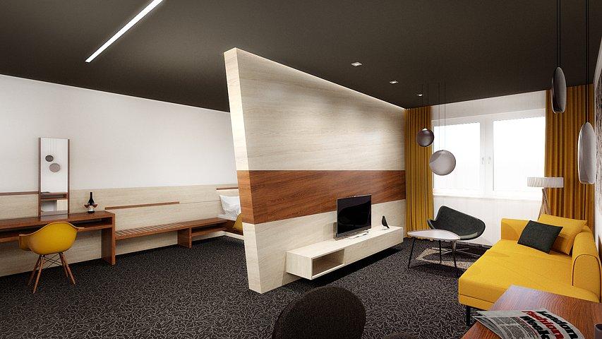 Hotel Akadémia - vizualizácia