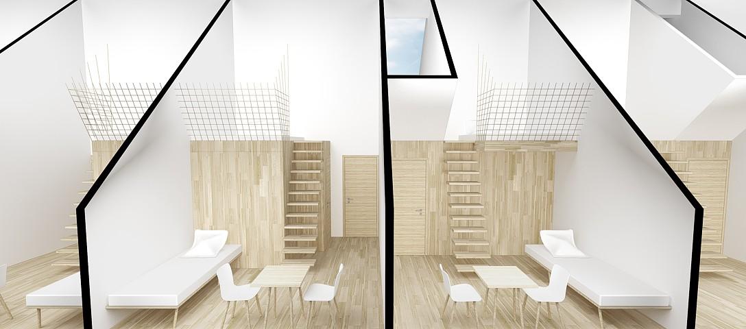 Kežmarská chata - vizualizácia