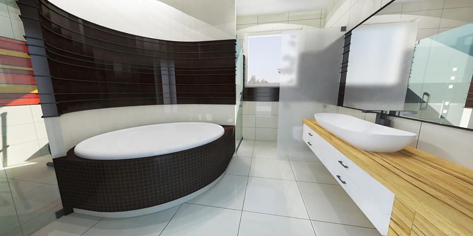 Kúpeľne - vizualizácia
