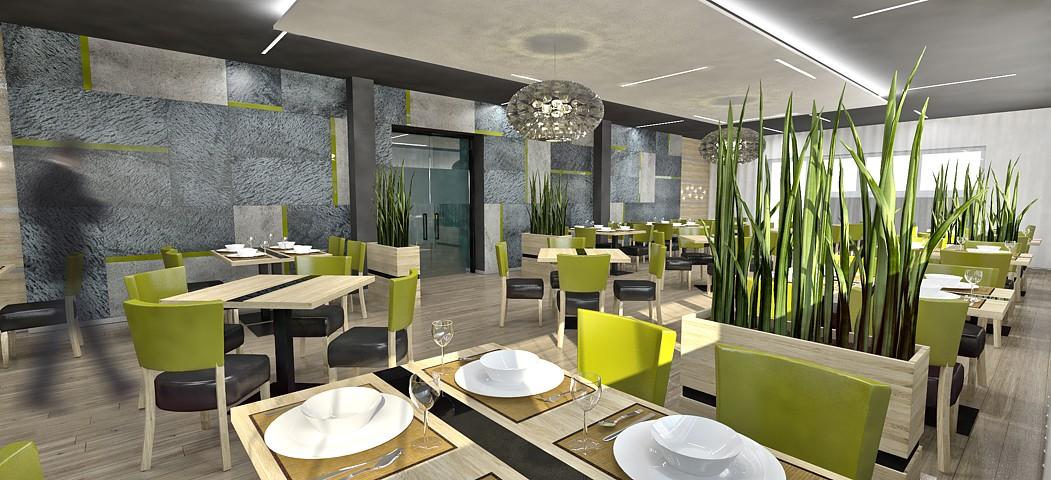 Penzión SET reštaurácia - vizualizácia