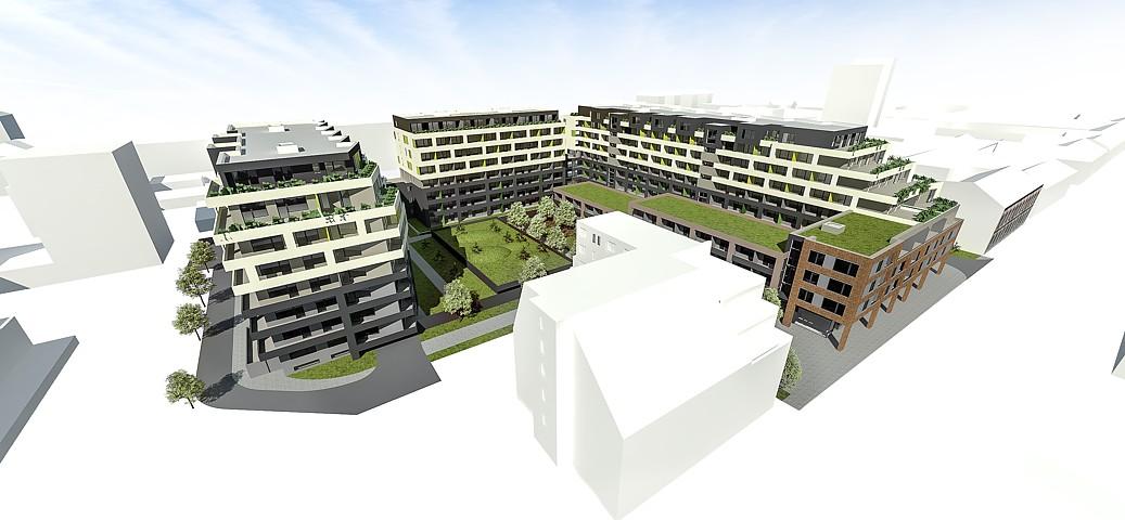 Rezidencia pri radnici - vizualizácia