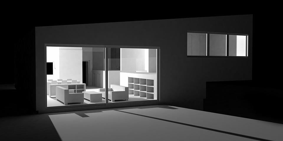 Rodinný dom 12x12 - vizualizácia