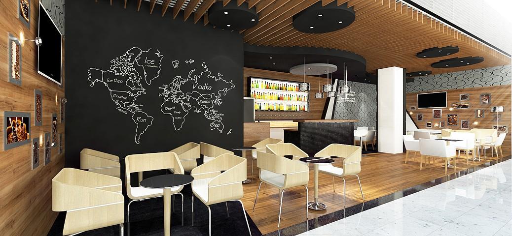 Rondo cafe - vizualizácia