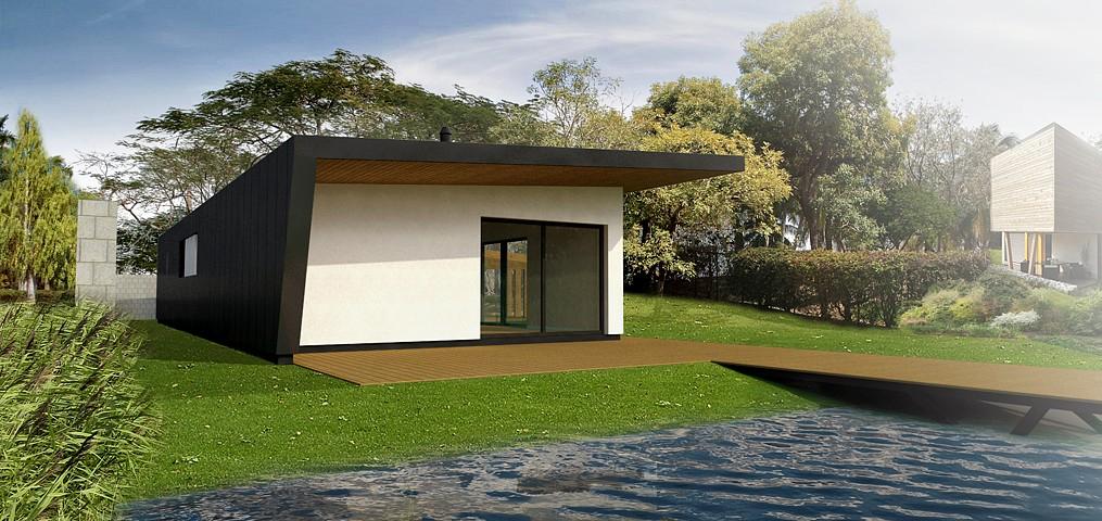 Víkendový dom Čaňa - vizualizácia